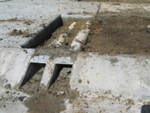 pipes in ground