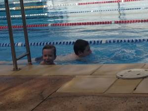 My Boys Swimming like Real People