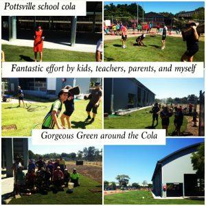 Potty School Cola area - all green