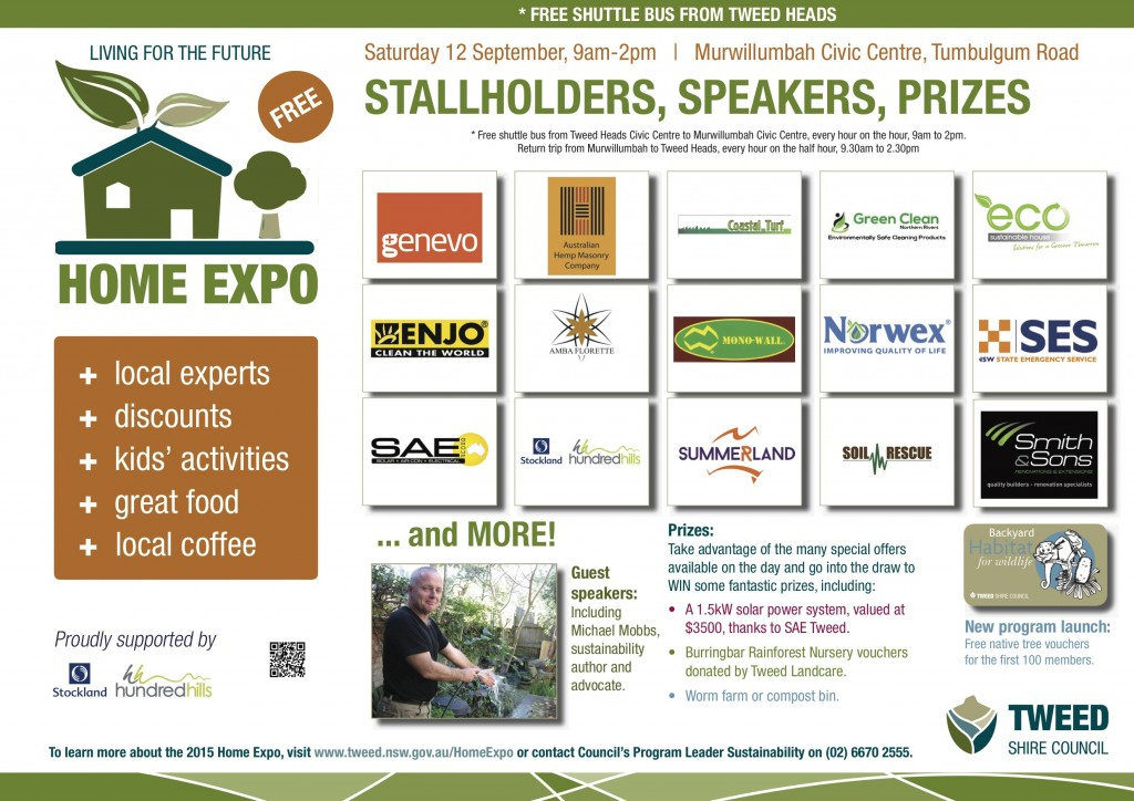 Home Expo Stallholders Poster 2015 (2)