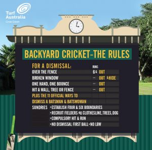 Backyard scoreboard